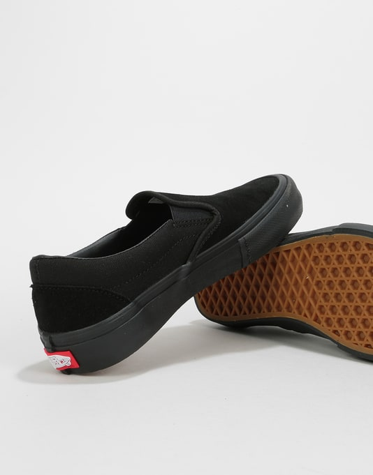 Vans Slip-On Pro Womens Trainers - Blackout
