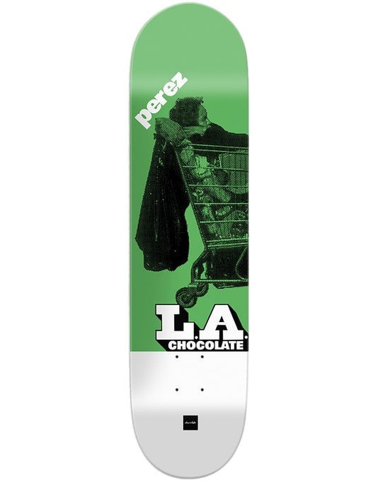 Chocolate Perez LA Express Skateboard Deck - 8.375""