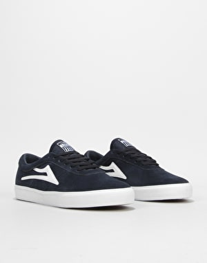 Lakai Sheffield Skate Shoes - Navy Suede