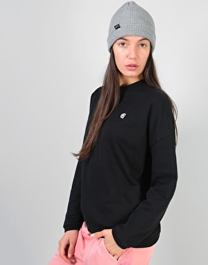 Carhartt Womens Ellery Egypt Sweatshirt - Black/White