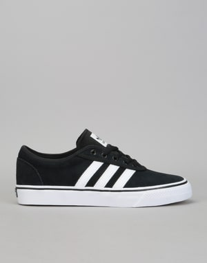 Adidas Adi-Ease Skate Shoes - Core Black/White/Core Black