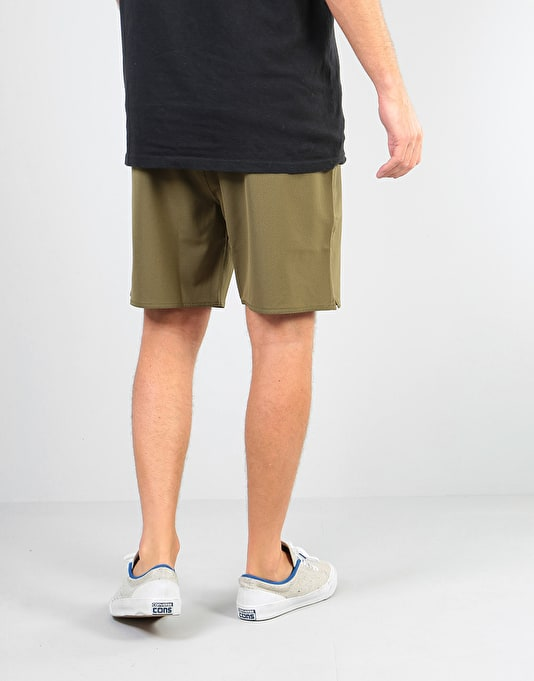 Brixton Relay Shorts - Olive
