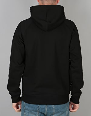 Carhartt Hooded Chase Sweatshirt - Black/Gold