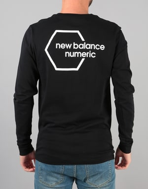 New Balance Numeric NB# Longsleeve T-Shirt - Black