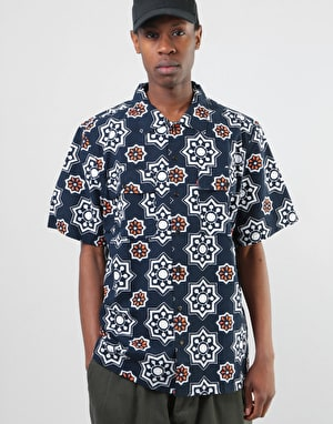 Levi's Skateboarding S/S Button Down Shirt - Waterthrush / Navy