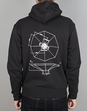 Long Live Southbank Archigram Pullover Hoodie - Black/White