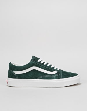 Vans Old Skool Skate Shoes - (Pig Suede) Dark Spruce