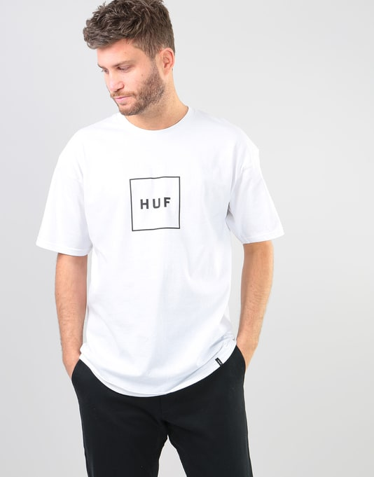 HUF Box Logo T-Shirt - White