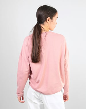 Carhartt Womens Ellery Egypt Sweatshirt - Soft Rose/Black