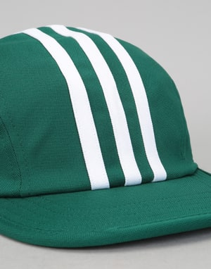Adidas Stripes 4 Panel Cap - Collegiate Green