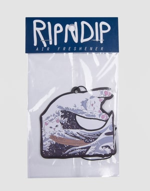RIPNDIP Great Wave Air Freshener - Black