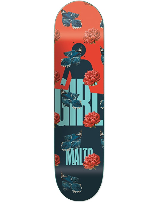 Girl Malto Sanctuary Skateboard Deck - 8.125""