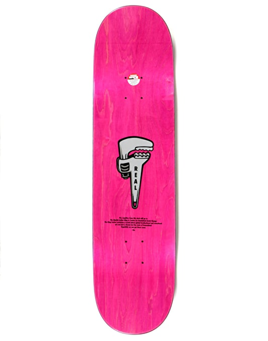 Real Thiebaud Wrench Justice Skateboard Deck - 8.25""