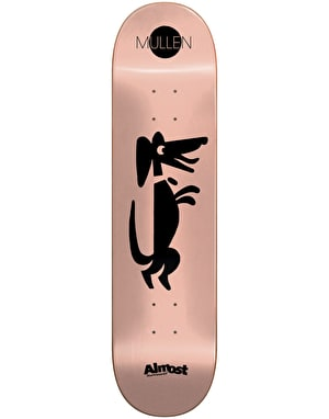 Almost Mullen Black Out Impact Light Pro Deck - 8.375