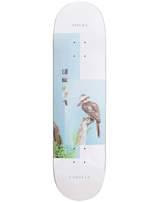 SOVRN Fardell 7th Division Skateboard Deck - 7.75""