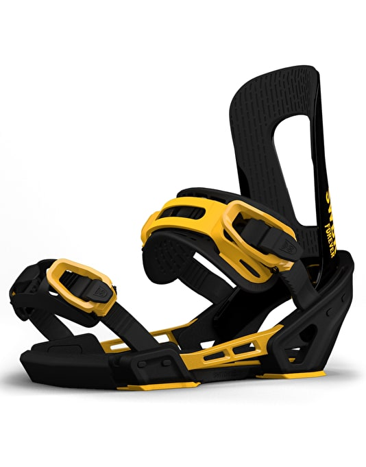 Switchback Forever 2018 Snowboard Bindings - Black/Yellow