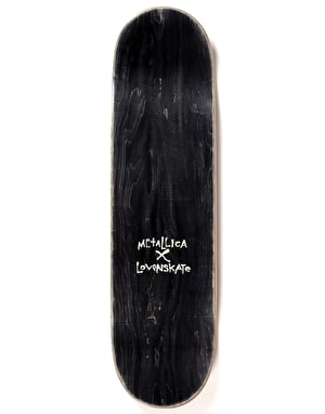 Lovenskate x Metallica Shortest Straw Ltd Deck - 8.5