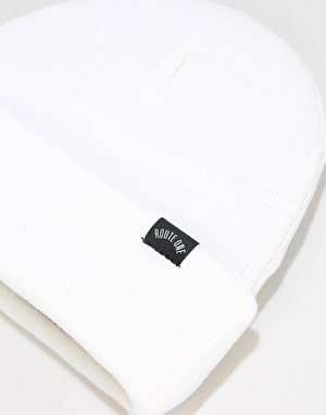 Route One NY Cuff Beanie - White