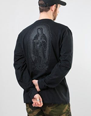 Santa Cruz Ghost Lady L/S T-Shirt - Black