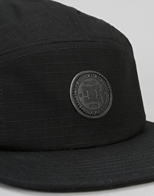 DC Cramper Camper 5 Panel Cap - Black