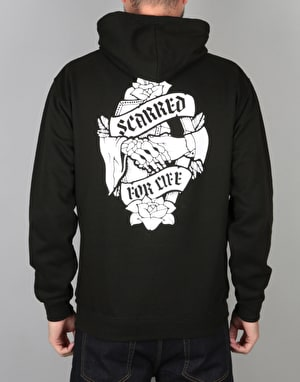 Scarred For Life Don't Fear The Reaper Pullover Hoodie - Black