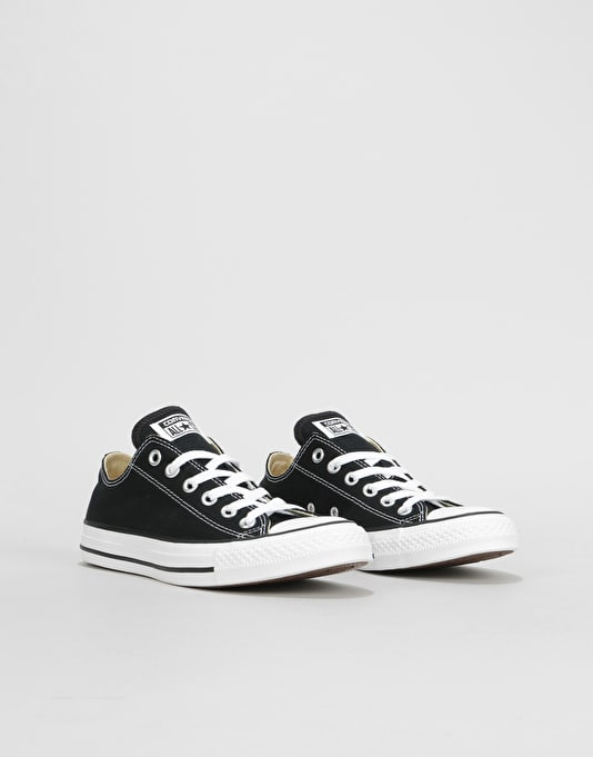 Converse All Star Low Womens Trainers - Black