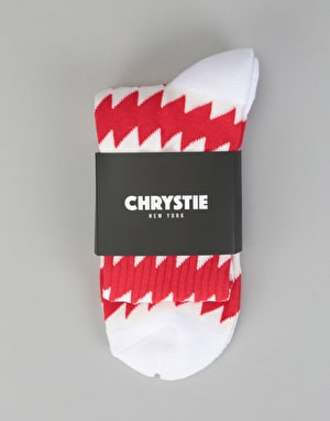 Chrystie x CSC Socks - White/Red
