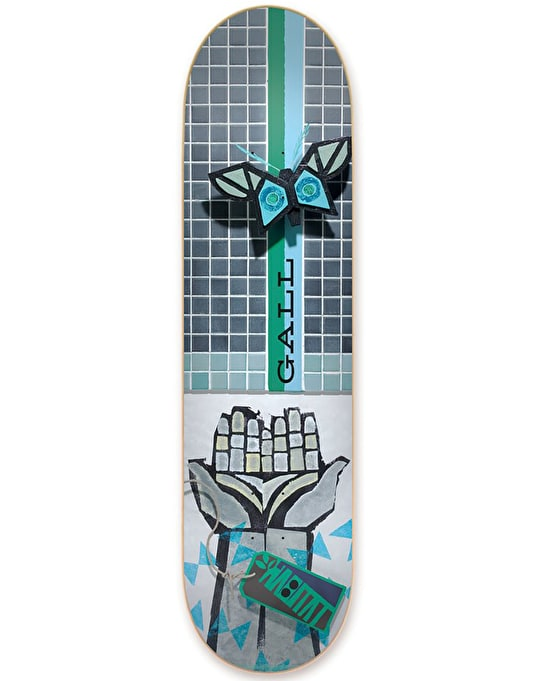 Habitat Gall Exposition Series Reissue Skateboard Deck - 7.75""
