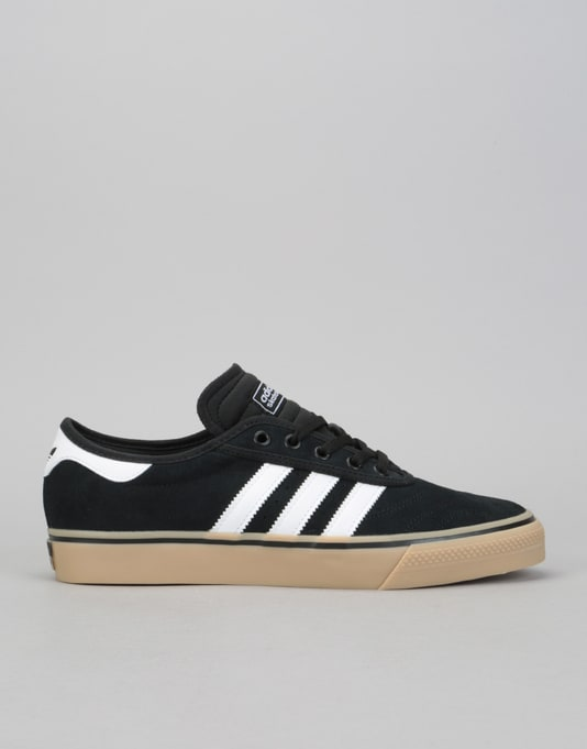 Adidas Adi-Ease Premiere Skate Shoes - Core Black White Gum  e11086be8b2d