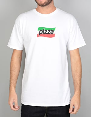 Pizza Spizza T-Shirt - White