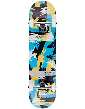 Rocket Abstract Distinct Series Complete Skateboard - 7.75