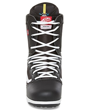 Vans Mantra 2018 Snowboard Boots - Black/White/Red