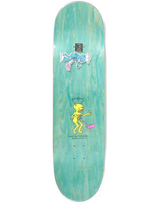 Polar x Dear x Ron Chatman Brady TV Kid Skateboard Deck - 8.625""