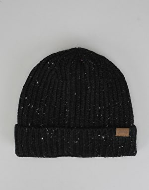 Route One Fleck Beanie - Black/White Fleck