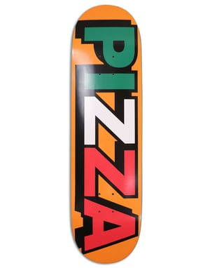 Pizza Tri Logo Skateboard Deck - 8.75