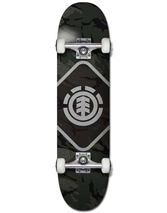 Element Map Camo Complete Skateboard - 7.75""