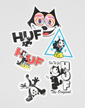 HUF x Felix Sticker Pack - Multi