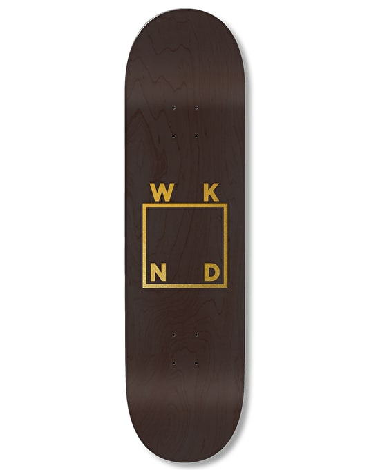 WKND Gold Logo Team Deck - 8.5""