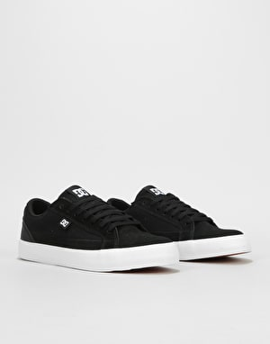 DC Lynnfield S Skate Shoes - Black/White