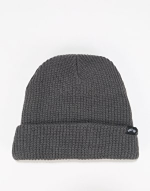 Route One Fisherman Beanie - Slate Grey