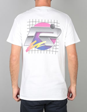 Route One Futuristic T-Shirt - White