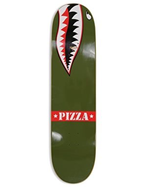 Pizza Webb WWIII Skateboard Deck - 8.25