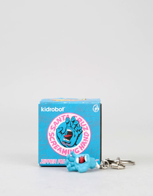 Santa Cruz Screaming Hand Mini Keychain - Mixed