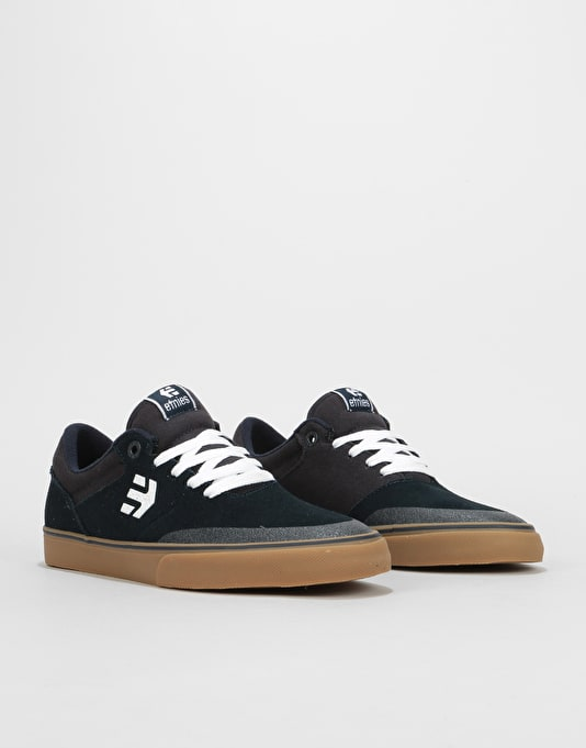 Etnies Marana Vulc Skate Shoes - Navy/White/Gum