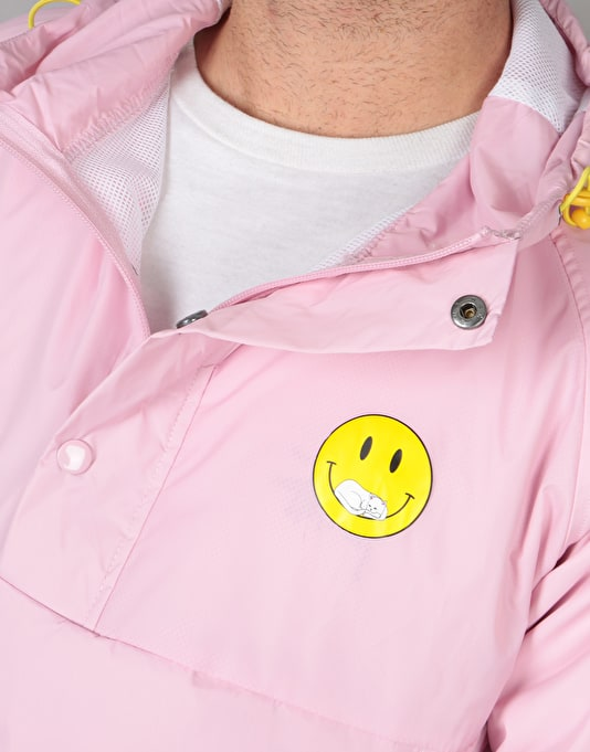 RIPNDIP Everything Will Be OK Anorak Jacket - Pink