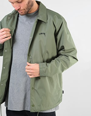 Stüssy Cruize Coach Jacket - Olive