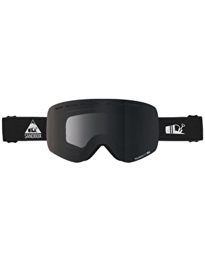 Sandbox The Kingpin 2019 Snowboard Goggles - Black/Polarized Shift