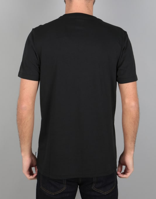 Adidas Solid Blackbird T-Shirt - Black/White