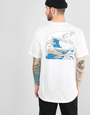 RIPNDIP Great Wave T-Shirt - White