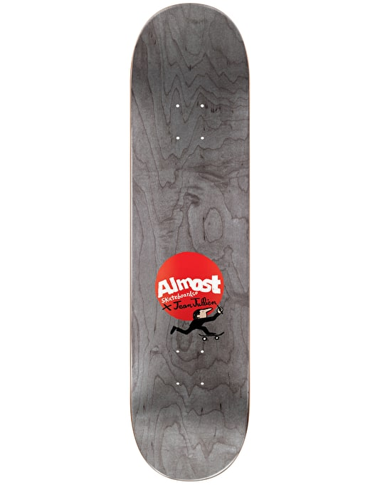 Almost x Jean Jullien Mullen Monsters Skateboard Deck - 8.125""